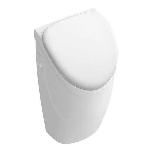 O.novo Absaug-Urinal compact 29 x 49,5 x 24,5 cm, für Deckel, Zulauf verdeckt