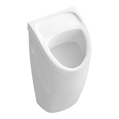 Villeroy & Boch O.novo Absaug-Urinal compact 29 × 49,5 × 24,5 cm, ohne Deckel, mit Zielobjekt 0