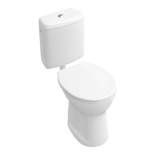 O.novo Flachspül-WC 35,5 x 46,5 cm bodenstehend