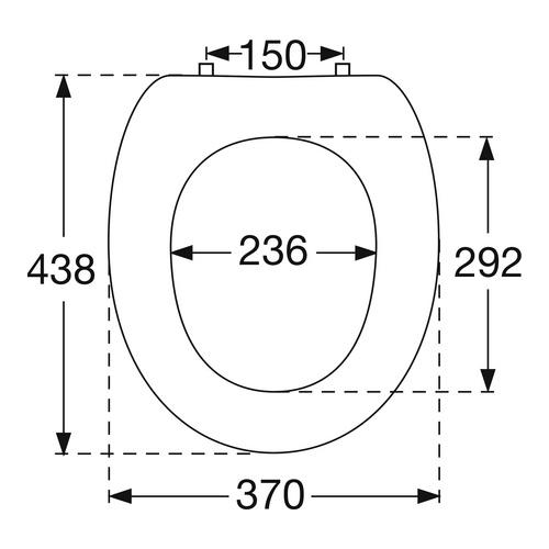OMNIA CLASSIC / O.novo WC-Sitz 882361