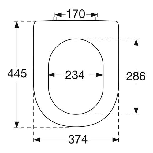 WC-Sitz Hommage Nussbaum/chrom 992661