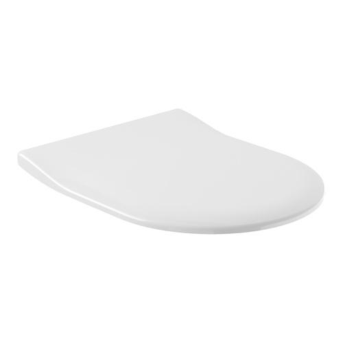 Architectura WC-Sitz Schmal (SlimSeat), Rund, ohne Soft Closing Funktion