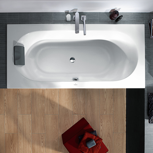 Loop & Friends Duo Acryl-Badewanne, ovale Innenform 180 x 80 cm