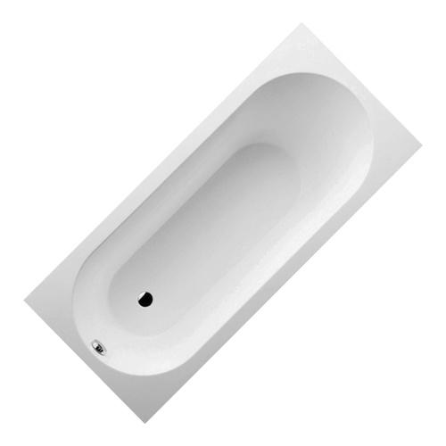 OBERON Rechteck-Badewanne Quaryl® 170 x 75 cm