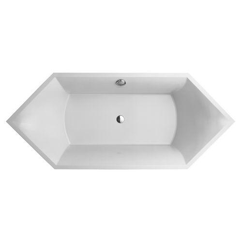 Badewanne Squaro 1892 x 794 mm weiß