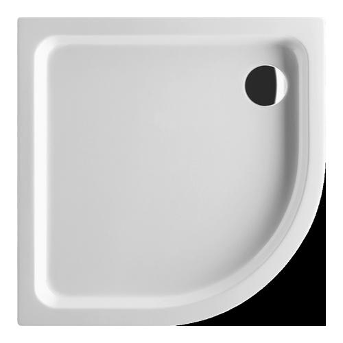 O.novo Viertelkreis-Duschwanne 90 x 90 x 6 cm