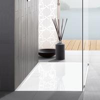 Architectura MetalRim Acryl-Duschwanne 120 x 80 x 1,5 cm, Antirutsch