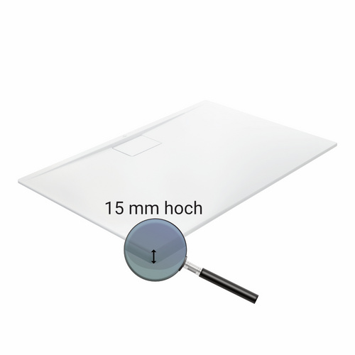 Villeroy & Boch Architectura Metalrim Acryl-Duschwanne 120 × 80 × 1,5 cm 1