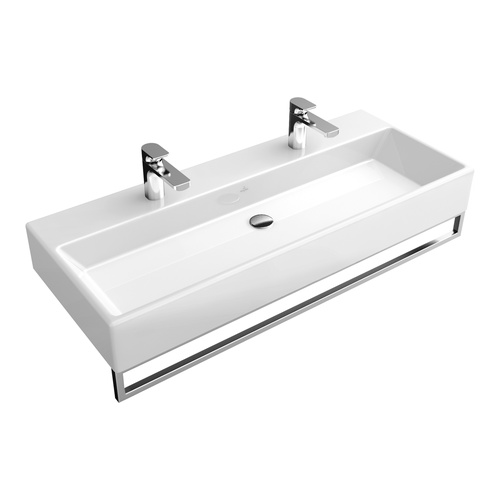 Villeroy boch waschtisch memento 120x47 cm o hl o l 5133c3 design in bad - Wandauslauf armatur ...