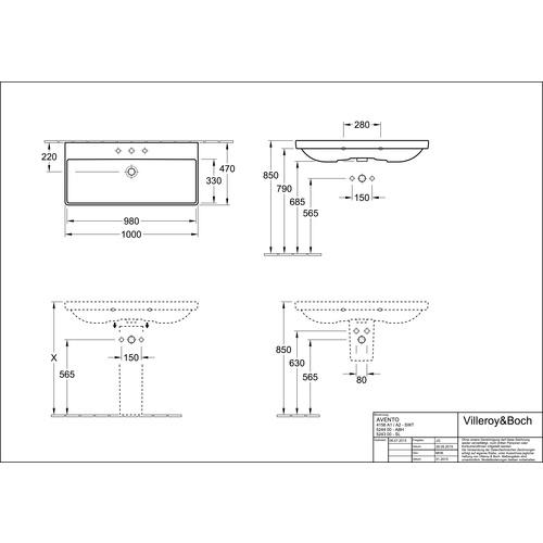 villeroy boch sentique subway 2 0 s ule 52430001 design in bad. Black Bedroom Furniture Sets. Home Design Ideas