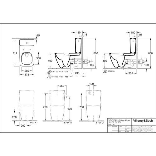 villeroy boch venticello sp lkasten 570711 design in bad. Black Bedroom Furniture Sets. Home Design Ideas