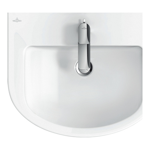 villeroy boch subway 2 0 waschtisch 60x49 cm m hl m l 711460 design in bad. Black Bedroom Furniture Sets. Home Design Ideas