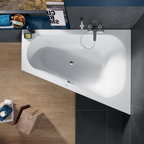 Loop & Friends Badewanne spezielle Form, ovale Innenform, rechte Ausführung  175 x 135 cm