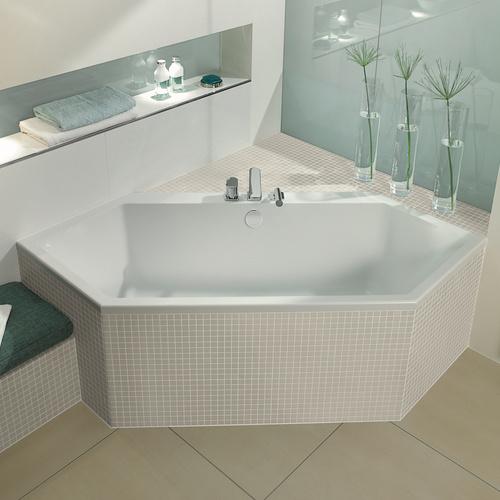 villeroy boch subway duo 6 eck badewanne 190x80 cm ba190sub6v design in bad. Black Bedroom Furniture Sets. Home Design Ideas