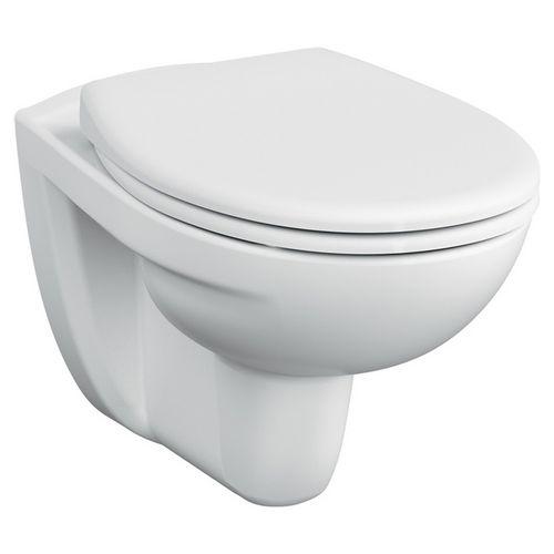 Normus Wand-WC ohne Spülrand inklusive WC-Sitz mit Soft Closing
