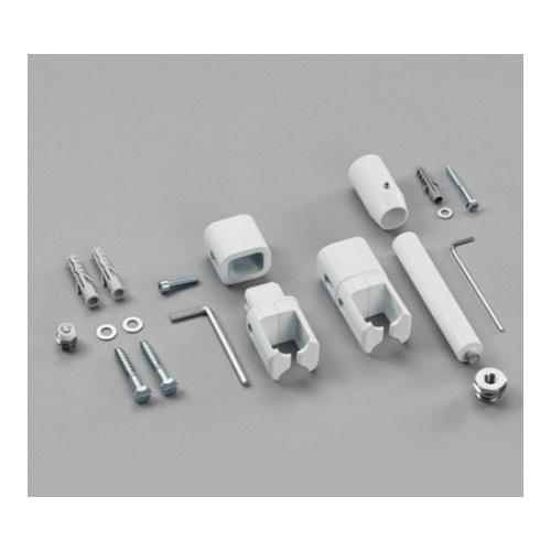 Raumteiler-Montagezubehör mit Fußstütze für Zehnder Universal & Zeno einlagig