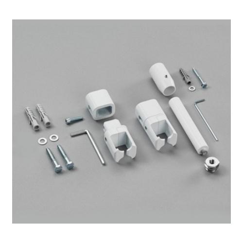 Raumteiler-Montagezubehör mit Fußstütze für Zehnder Toga für Elektrobetrieb