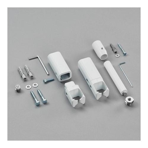Raumteiler-Montagezubehör lang mit Fußstütze für Zehnder Toga für Elektrobetrieb