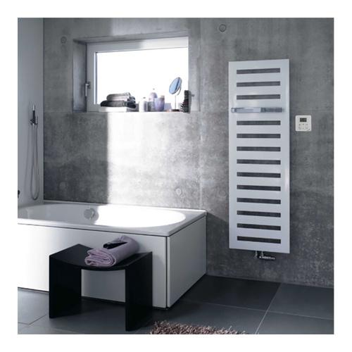 Zehnder Metropolitan Bar Designheizkorper 154 X 50 Cm Fur Den Mischbetrieb Inkl Heizstab Und Handtuchhalter