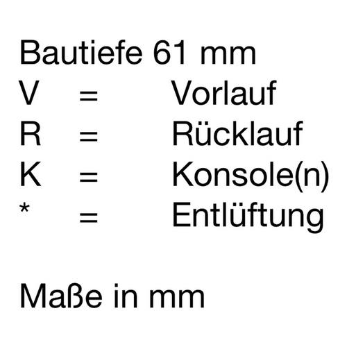 Zehnder Nobis Designheizkörper 152 × 50 cm 2