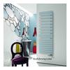 """""""Roda Spa Asym"""" Designheizkörper (links) 167,6 x 55 cm"""