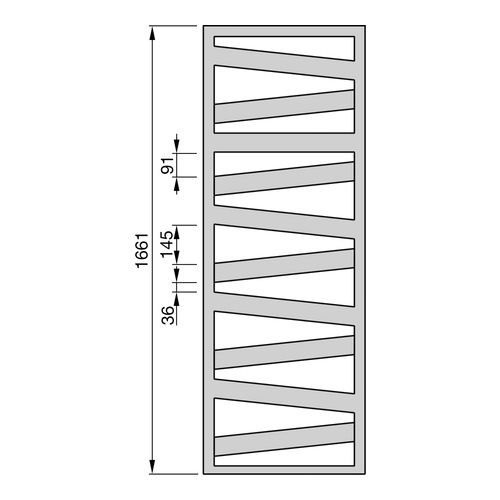 "Zehnder ""Ribbon"" Designheizkörper 166,1 × 60 cm 2"