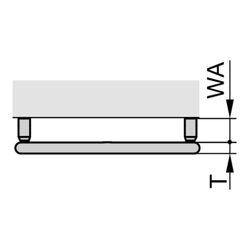"Zehnder ""Ribbon"" Designheizkörper 166,1 × 60 cm 5"
