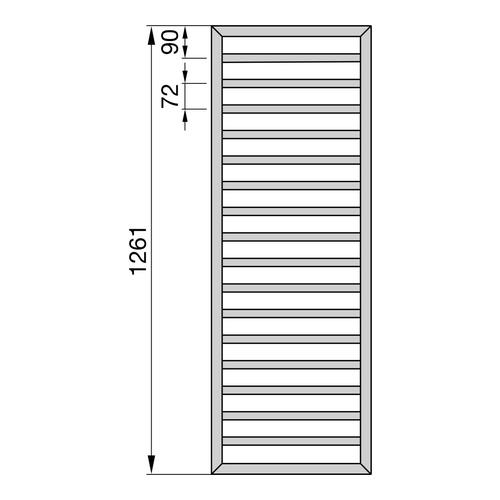 Zehnder Subway Designheizkörper 126,1 x 60 cm 2