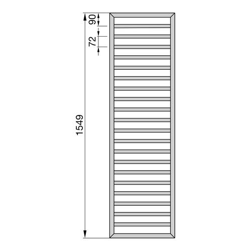 Zehnder Subway Designheizkörper 154,9 x 60 cm 2