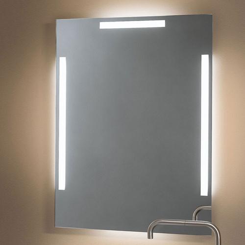Zierath Lichtspiegel PONTE LED Kristallspiegel nach Maß, BxH: 600x600