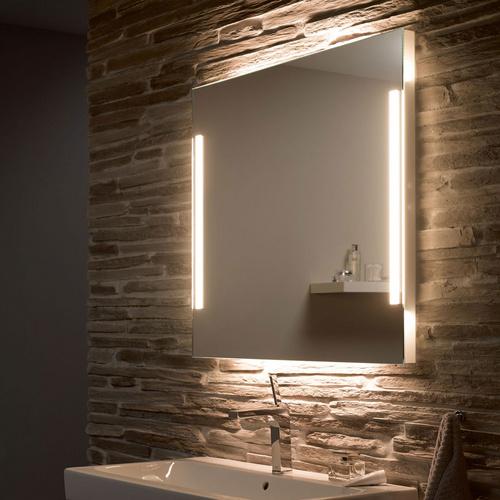 Zierath Lichtspiegel REMO LED Kristallspiegel nach Maß, BxH: 600x600