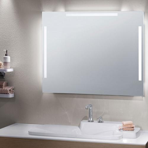 Zierath Lichtspiegel VERONA LED Kristallspiegel nach Maß, BxH: 600x600