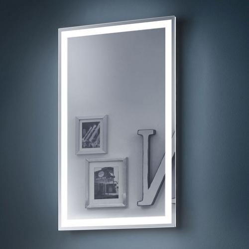 """Zierath Lichtspiegel """"Visibel"""" Kristallspiegel nach Maß, BxH: 450x700"""