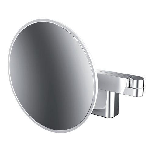 """emco """"evo"""" Rasier- und Kosmetikspiegel mit LED-Beleuchtung ⌀ 20,9 cm 0"""