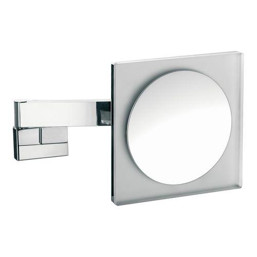 prestige Rasier- und Kosmetikspiegel mit LED-Beleuchtung 22 × 22 cm