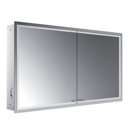 prestige 2 Unterputz-Spiegelschrank mit LED-Beleuchtung 121,5 × 66,6 cm