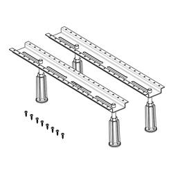 Ferroplast® B8 Standard Badewannenfuß für Acrylbadewannen bis zu 200 x 90 cm