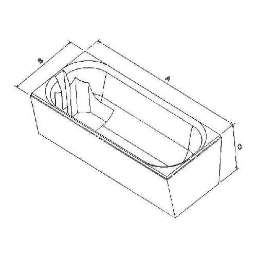 Poresta Wannenträger Poresta Prosan 170x75cm IL17029636