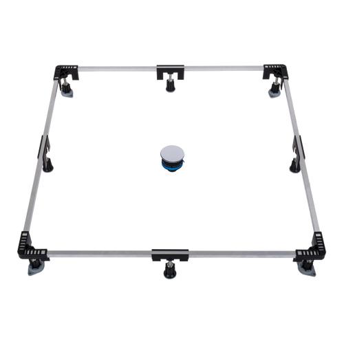 poresta Ferroplast® Montagerahmen 1200, für extra flache Duschwannen bis 120 x 120 cm 0